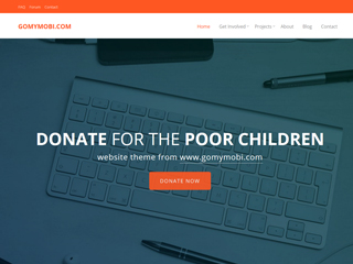 gomymobi.com - 主题: Charity: Happy Donation