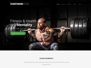 gomymobi.com - 主题: Fitness: Healthy Trainers