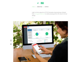 gomymobi.com - 主题: Light: Clean Homepage
