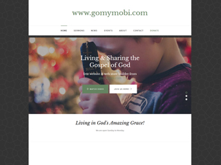 gomymobi.com - Téma: Church: Minimal Design