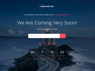 gomymobi.com - Téma: Launch: Coming Soon