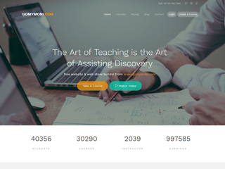 gomymobi.com - Тема: Learn: Online Study & Teach