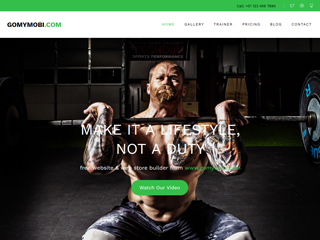 gomymobi.com - Тема: Stamina: Gym, Yoga & Fitness