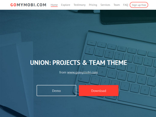 gomymobi.com - Téma: Union: Project Team